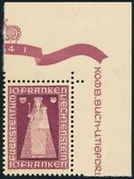 LIECHTENSTEIN 1941, MiNr. 197, postfrische Luxus Bogenecke, Mi. 110,-