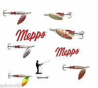 Mepps long Heavy VARIETY SIZES & COLOURS deep runner  Excellent for long casting