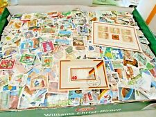 DDR Germany Off Paper Randomly Picked 500 pcs Stamps Collection Lot Deutschland