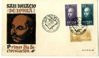 Sobre primer dia sellos de España IV Cent. de la muerte de San Ignacio de Loyola