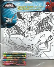 Spiderman colour your own jigsaw