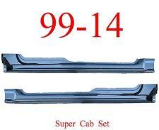 09 14 Super Cab, Extended Rocker Set, Panel, OEM Type, Ford F150 Truck, Both L&R