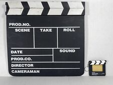 Hollywood Clapboard Clapper Chalk Board Movie Sign Director's Prop & Key Chain