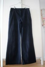 Abercrombie & Fitch High Rise Wide Leg Pants 627452449 A&F Women's 26 W Navy