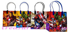 6pc Marvel Avengers Party Favors Gift Toy Bags Thor Hulk Iron Man Birthday Treat