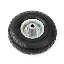 "300lb Tires 10"" Steel Air Pneumatic Hand Truck Dolly Wagon Industrial Wheel"