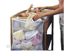 Baby Crib Cot Bedside Hanging Storage Bag Diaper Nappy Clothes Clothes Organizer