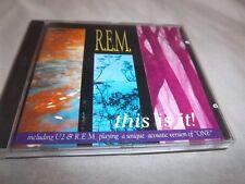 R.E.M.-THIS IS IT!- (U2) RPCD 1117 CD