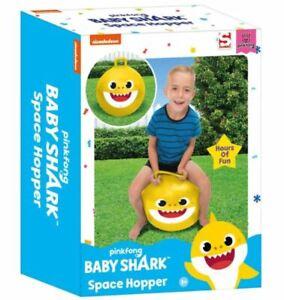 Baby Shark Space Hopper Kids Fun Outdoors Bouncy