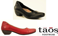 Taos Shoes Debut - leather comfort dress heels