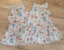❤H&M❤Zwillinge 2x Disney Anna und Elsa Frozen Kleid bunt Gr.98 / 104 NEU