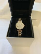 ladies emporio armani watch (used)