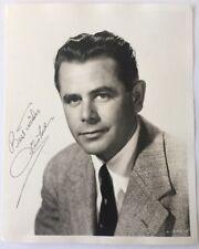 Glenn Ford Signed Photo JSA Certificate V53447