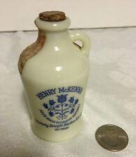Scarce Custard Glass Mini Whiskey Jug 1/10 Pint