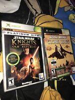 Star Wars: Knights of the Old Republic Clone Wars Tetris Original Microsoft Xbox