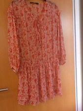 Zara 3/4 Sleeve Short/Mini Tunic Dresses for Women
