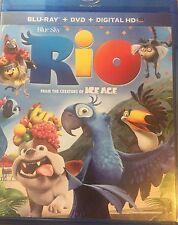 Rio (Blu-ray/ DVD/ Digital HD) 2011