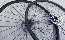 Hope 700c Tubeless disc wheels QR Ambrosio P20 rims Touring Gravel Cyclocross