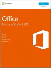 Microsoft Office 2016 Home & Student Box-Pack