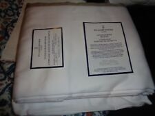 Williams Sonoma Chambers Border Sateen Sheet Set California King Khaki New