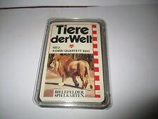 Bielefelder Spielkarten - Animales del mundo - kombi-quartett N º 0243