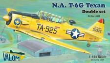T-6G Texan in US, France, Israel, Germany (TWO 1/144 model kits, Valom 14408)