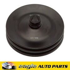 Buick Chev GMC Oldsmobile Pontiac Twin V Power Steering Pump Pulley  # 300-121