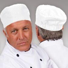 Chef Beanie Skull Cap Sous Chef Cap White Brand New Quick Ship!