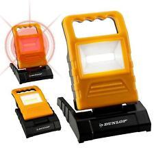 Dunlop 120Lumen COB LED Work Light Dimmable Lantern Emergency Garage Home 90°