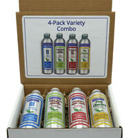 100% All Natural Organic Vegan Body Wash Bundle - 2021 New Scents Pure Moisture.