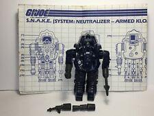 GI Joe Vehicle Cobra SNAKE Armor Weapon Peg Connector 1983 Original Part
