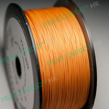 Brown 30 AWG 1000Ft Sliver Plated Wrapping Copper Wire Wrap Spool Reel PVDF USA