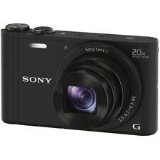 Sony Black Cyber-Shot 20.4MP Digital Camera, 40x Clear Image Zoom - DSCWX350/B