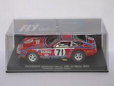 FLY Car Ferrari 365 GTB/4 24h. Le Mans 1974 #71 - Refs. A651 & 88077