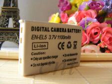 Rechargable  EN-EL5 Li-ion Battery for Nikon Coolpix S10 P80 P6000 P5100 7900