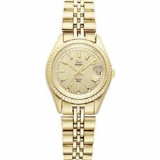 Timex Ladies Gold Classic Dress Watch T32227