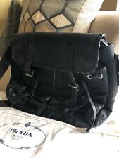 Prada Leather/nylon messenger bag