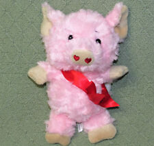 """Ganz DREAM ANGELS Pink PIG with White WINGS 9"""" Plush Stuffed Animal PIGSLEY Toy"""