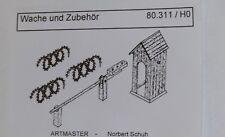 Artmaster 80.311 Wache und Zubehör H0 1:87 Neu / OVP