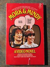 MORK & MINDY 1979 Video Novel color photos Robin Williams NICE - FREE shipping!