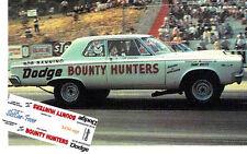 CD_MM_095 Tom Sneden  Bob Banning's Bounty Hunters Super Stock Dodge 1:64 decals