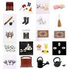 Various 1:12 Scale Wooden/Metal Miniature Toy fit Vintage Modern Dollhouse Scene