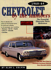 CHEVROLET PARTS BOOK BY THE NUMBERS MANUAL 1960-1964 CHEVY RESTORATION
