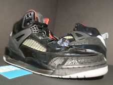new styles 44d57 fa8dc NIKE AIR JORDAN SPIZIKE PATENT LEATHER BRED BLACK STEALTH RED 315371-001  10.5