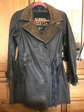 Women's SUPERDRY trench coat size small 8-10