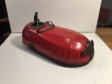 Vintage 1930's Tinplate Clockwork Dodgem Bumper Car Working