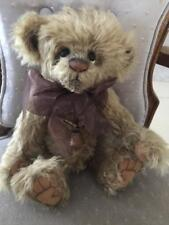 Charlie Bears COLLYWOBBLE 2012 Isabelle Mohair Collection FREE US SHIP
