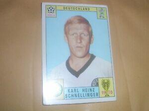 1970 PANINI MEXICO 70 ORIGINAL UNUSED STICKER.SCHNELLINGER.DEUTSCHLAND.GERMANY.