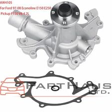 New Coolant Water Pump w/ Gasket fits Ford F150 Econoline E150 E250 4.2L V6