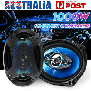 TP-6971 6x9'' Car Coaxial Speaker 2 Way Component Audio Stereo System Max.1000W
